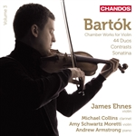 Bartok: Chamber Works for Violin, Volume 3