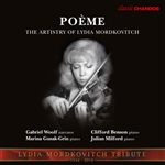 Poeme – The Artistry of Lydia Mordkovitch