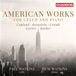 American Works for Cello and Piano