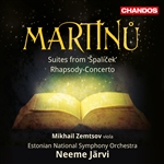Martinu: Suites from 'Spalicek'/Rhapsody Concerto