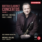 British Clarinet Concertos, Volume 2