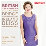 British Violin Sonatas, Volume 2