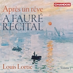A Fauré Recital, Volume 1