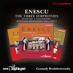 Enescu - The Three Symphonies
