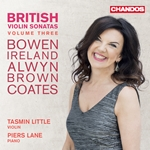 British Violin Sonatas Vol.3