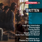 Britten: Various 2-CD Set