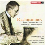 Rachmaninoff: Piano Concertos Nos 1-4/ Rhapsody on a Theme of Paganini