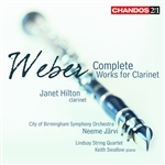 Weber: Complete Works for Clarinet