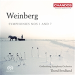 Weinberg: Symphonies Nos 1 and 7