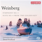 Weinberg: Symphony No. 3/ Suite No. 4 from 'The Golden Key'