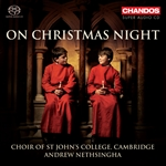 St John's College Choir - On Christmas Night