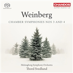 Weinberg: Chamber Symphonies 3 & 4