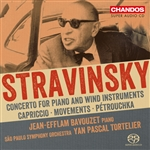 Stravinsky: Concerto for Piano / Capriccio / Petrushka