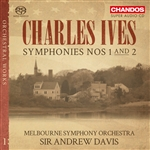 Ives: Symphonies Nos 1 and 2