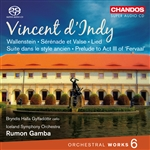 d'Indy: Orchestral Works, Volume 6