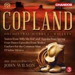 Copland: Vol.1 - Ballet Suites, Etc.
