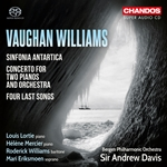 Vaughan Williams - Sinfonia Antartica, etc