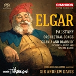 Elgar: Falstaff/Songs etc