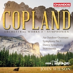Copland: Orchestral Works - Symphonies