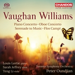 Vaughan Williams - Serenade to Music, etc