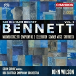 Bennett: Orchestral Works, Vol.1