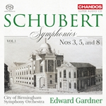 Schubert: Symphonies, Vol.1