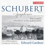 Schubert: Symphonies, Vol.2