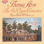 Arne: The Six Organ Concertos