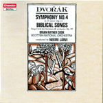 Dvorak: Symphony No. 4 · Ten Biblical Songs