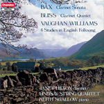 Bax/ Bliss/Vaughan Williams: Works For Clarinet