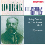 Dvorak: Cypresses/ String Quartet No. 7
