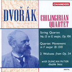 Dvorak: String Quartet No. 13/ Two Waltzes