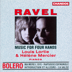 Ravel: Piano Music For 4 Hands