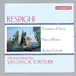 Respighi: Pines Of Rome · Fountains of Rome · Roman Festivals