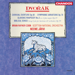 Dvorak: Carnival Overture/ Symphonic Variations/Slavonic Rhapsody/Biblical Songs