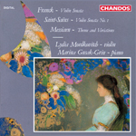 Lydia Mordkovitch - Franck/ Saint-Seans: Violin Sonatas · Messiaen: Theme and Variations