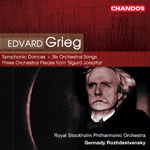 Grieg: Symphonic Dances / Six Songs / 3 Orchestral Pieces from 'Sigurd Jorsalfar'