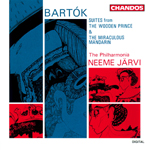 Bartok: The Miraculous Mandarin Suite/ The Wooden Prince