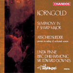 Korngold: Symphony in F# · Abschieslieder
