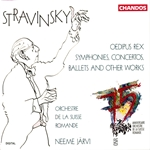 Stravinsky: Oedipus Rex, Symphonies, Concertos, Ballets and other works