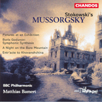 Mussorgsky: Bare Mountain · Pictures · Boris Godunov