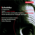 Schnittke: In Memoriam ... · Septet · Schaft & Hall · Music for Piano & Chamber Orchestra