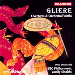 Gliere: Overtures & Orchestral Works