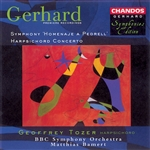 Gerhard: Pedrell Symphony · Harpsichord Concerto
