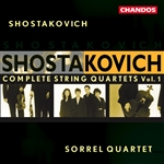 Shostakovich: Complete String Quartets, Vol. 1