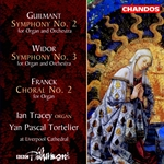 Ian Tracy / BBCPO / Tortelier - Guilmant/Widor/Franck: Symphonic Organ Works, Vol. 2