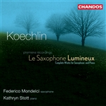 Koechlin: Complete Works for Saxophone & Piano