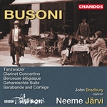 Busoni: Orchestral Works, Volume 1