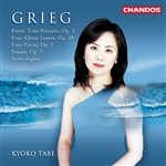 Grieg: Poetic Tone-Pictures · Sonata · Fugues for Piano · Four Pieces · Album Leaves