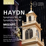 Haydn: Symphonies 49 & 87 / Mozart: Sinfonia Concertante